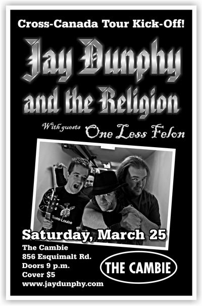 Jay Dunphy and the Religion Poster 2006-03-25